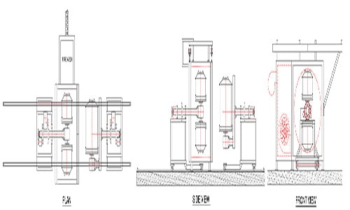 Shuttle Rotomolding Machine Manufacturer